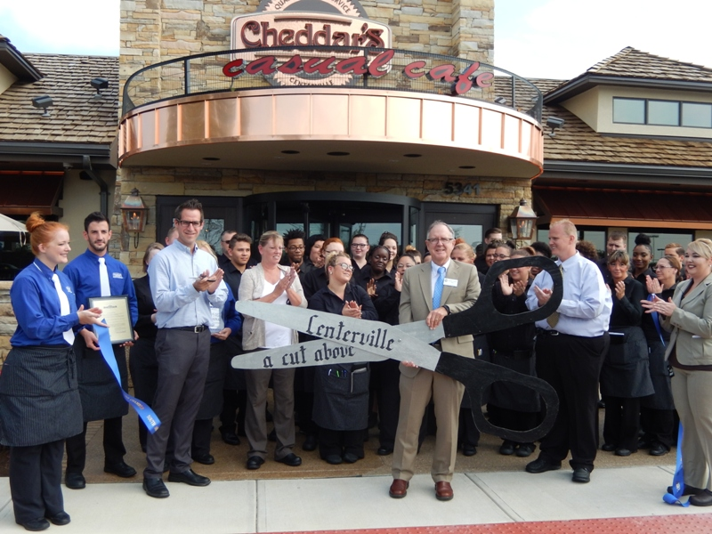 Cheddars grand opening